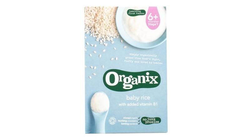 Organix Baby Rice Cereal