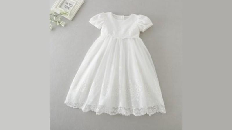 Cocobaby Baby Christening Baptism Elegant Dress