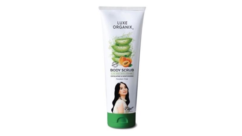 Luxe Organix Aloe Body Scrub With Apricot 180G