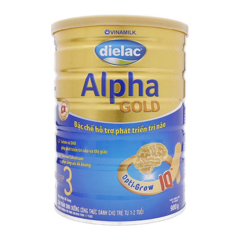 Sữa bột VINAMILK DIELAC ALPHA GOLD