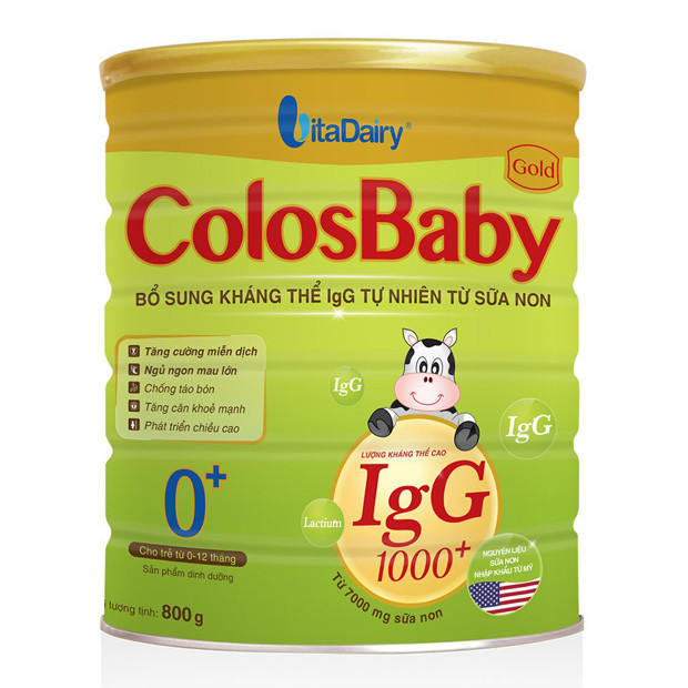 Sữa Bột VitaDairy ColosBaby Gold