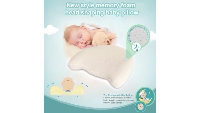 Organic Bamboo Baby Pillow
