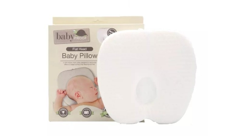 Baby Proof Flathead Baby Pillow