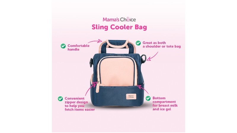 MAMA'S CHOICE SLING COOLER BAG