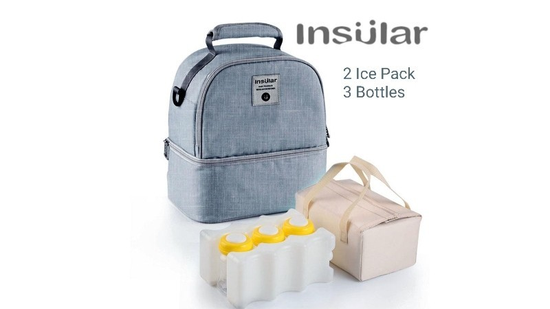 Insular Breastmilk Storage Cooler Bag