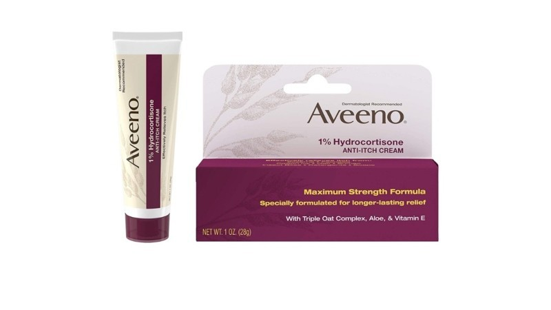 AVEENO Maximum Strength 1% Hydrocortisone Anti-itch Cream