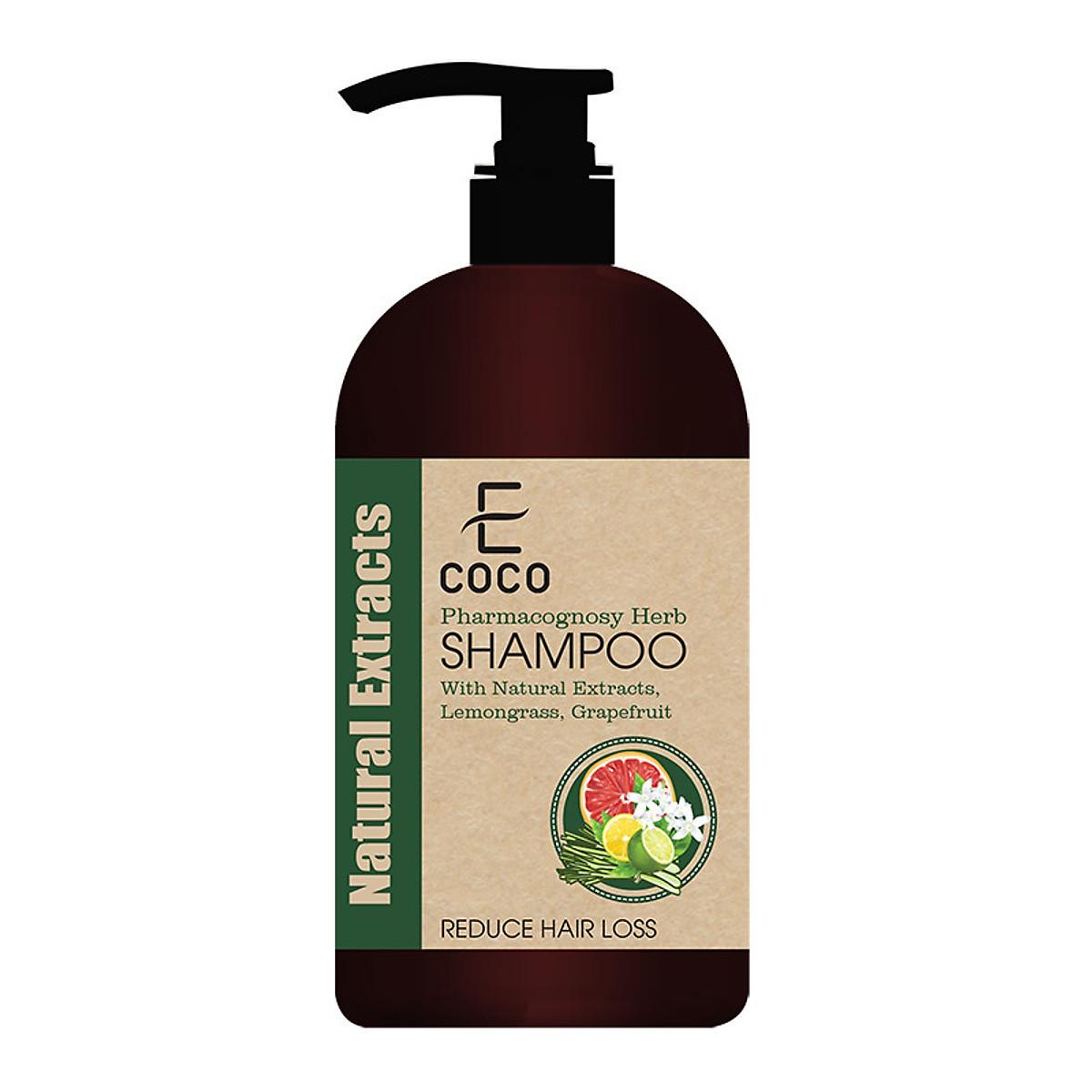 Dầu gội dược liệu điều trị rụng tóc Ecoco