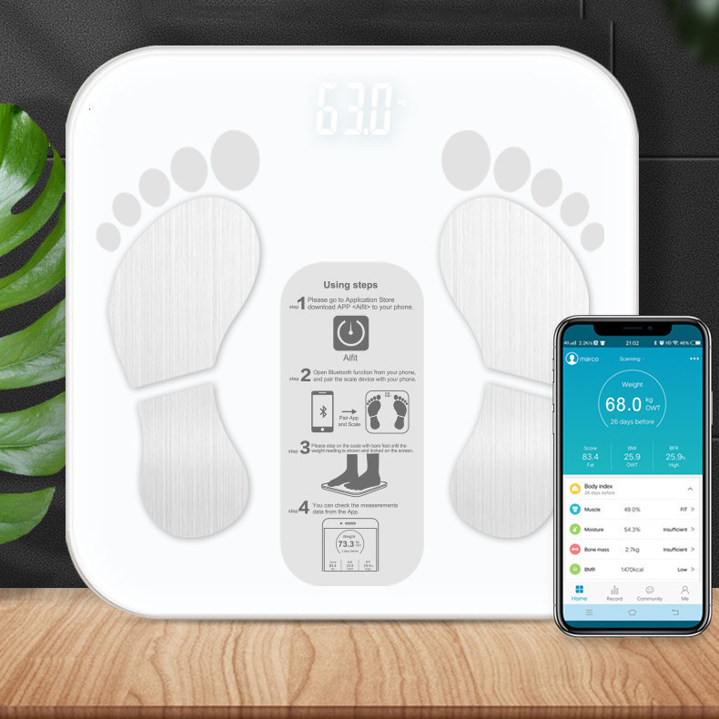 Cân Điện Tử Sức Khỏe  Digital Body Fat Scale