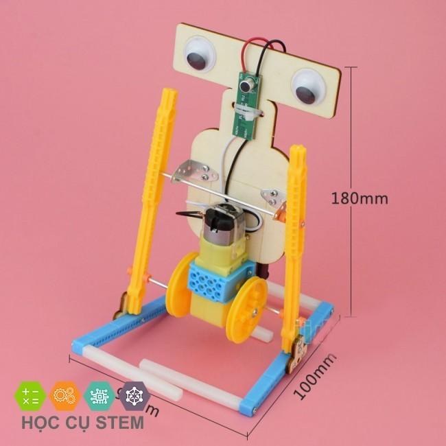 Đồ chơi STEM Robot Cảm Ứng Âm Thanh