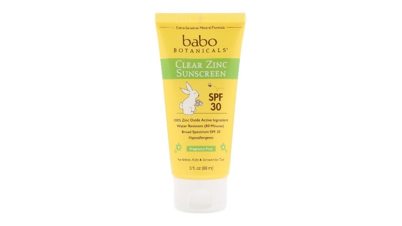 BABO BOTANICALS CLEAR ZINC SUNSCREEN