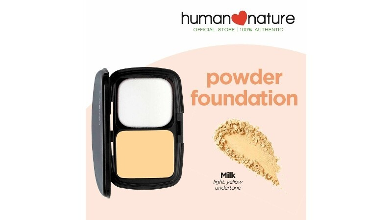 Human Nature's Perfect Coverage Mineral Foundation