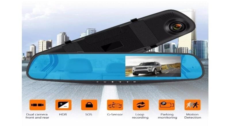 VINOVO Full HD 1080P Car Video Camera