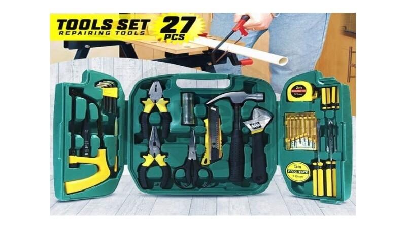 27PCS Screw Driver Set Car Emergency Tool Kit