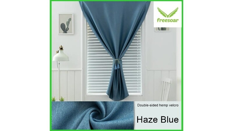 SELF-ADHESIVE BLACKOUT CURTAINS