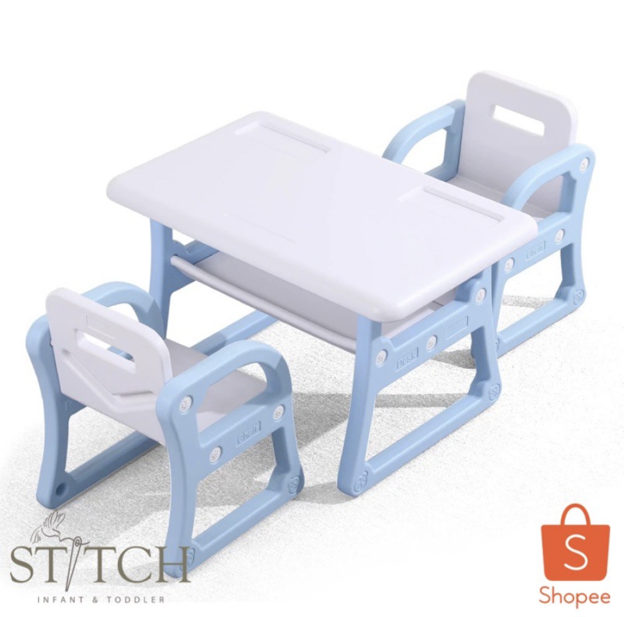 STITCH TABLE AND CHAIRS SET