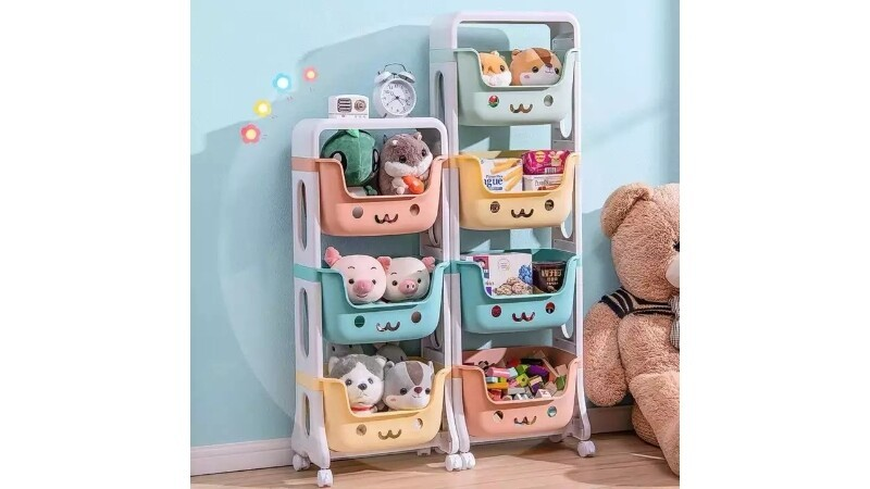 4-LAYER TOY TROLLEY