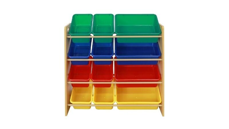 MANDAUE FOAM PIPPA PLASTIC TOY BOX ORGANIZER