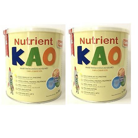 Sữa tăng chiều cao cho trẻ 1 – 6 tuổi Nutrient KAO