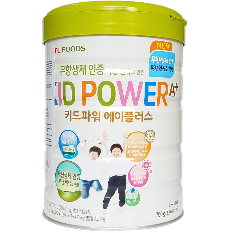 Sữa Bột Tăng Chiều Cao Kid Power A+