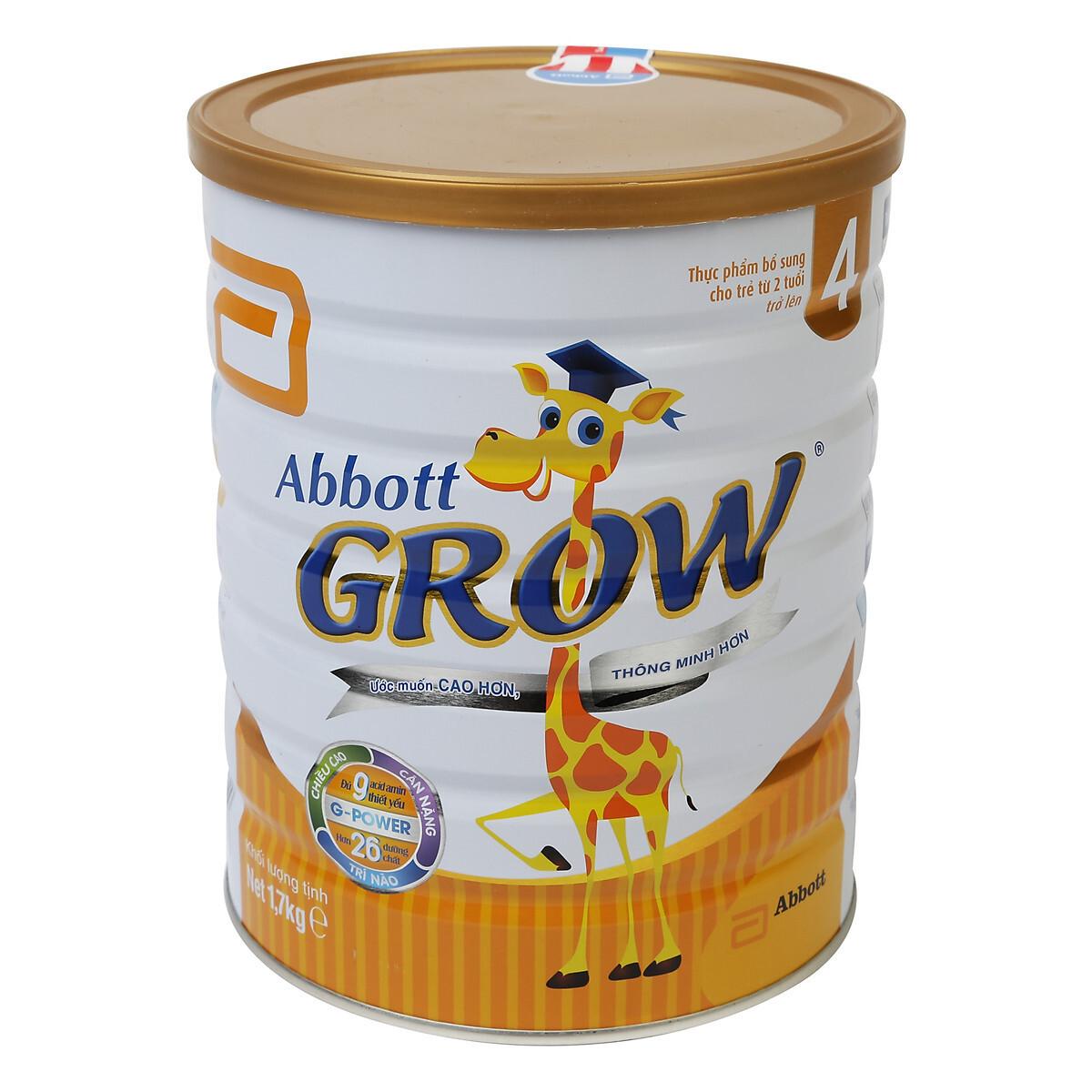Sữa Bột Abbott Grow 4 DHA AW4L