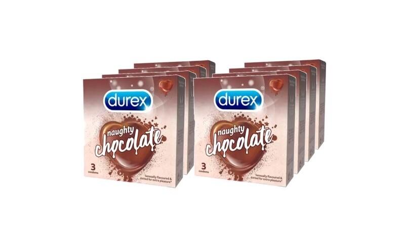Durex Naughty Chocolate 3s Set of 8