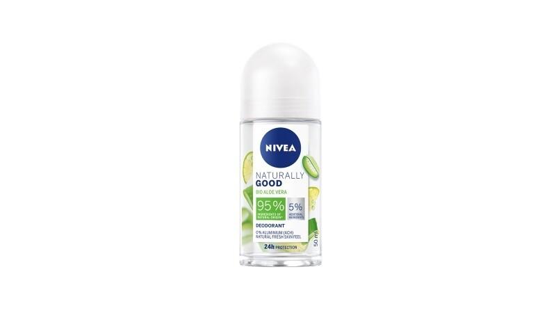NIVEA Deodorant Naturally Good Bio Aloe Vera Roll-On 50ml