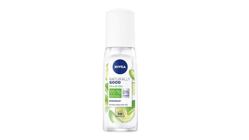 NIVEA Deodorant Naturally Good Bio Aloe Vera Spray 75ml