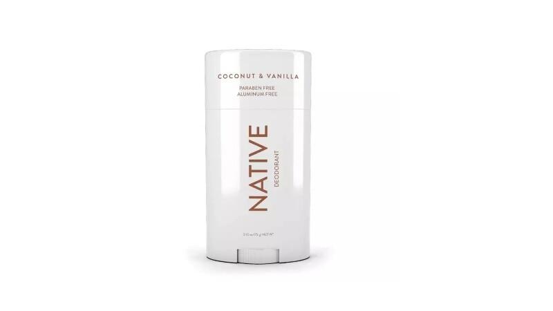 Native Deodorant Natural, Vegan, Gluten Free, Cruelty Free, Coconut & Vanilla 75 g