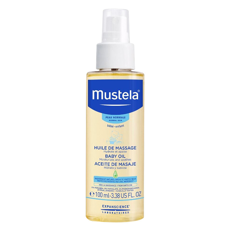 Dầu Massage Cho Bé Mustela