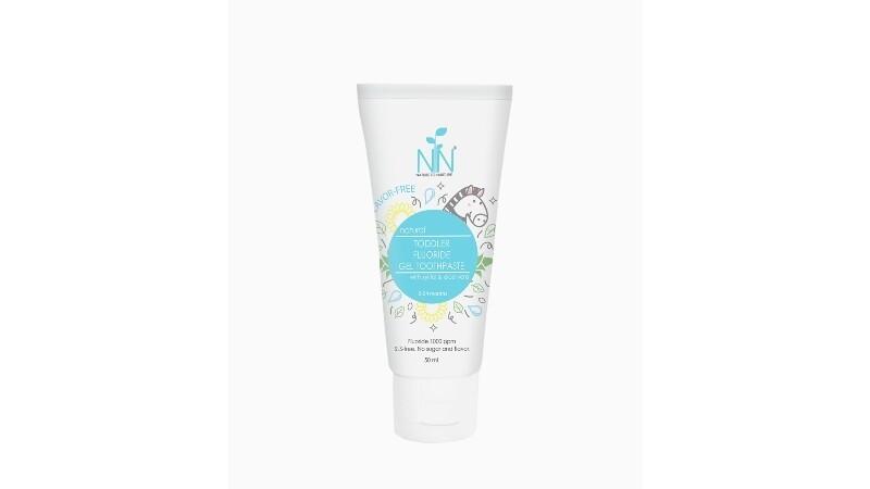 Nature to Nurture Toddler Fluoride Toothpaste 50ml(6-24 mos) BLUE