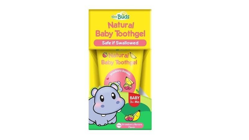 Tiny Buds Baby Toothgel Stage 1 - Strawberry Banana