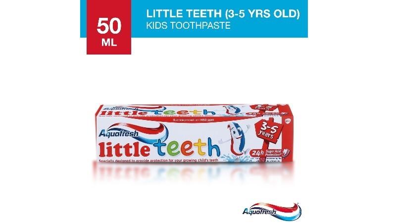 Aquafresh Kids Little Teeth Toothpaste for Children 3-5 years old 50ml