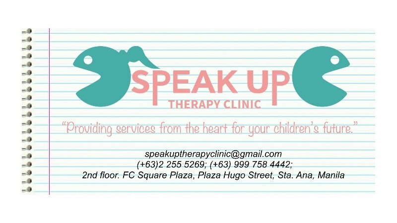SPEAK UP THERAPY CLINIC