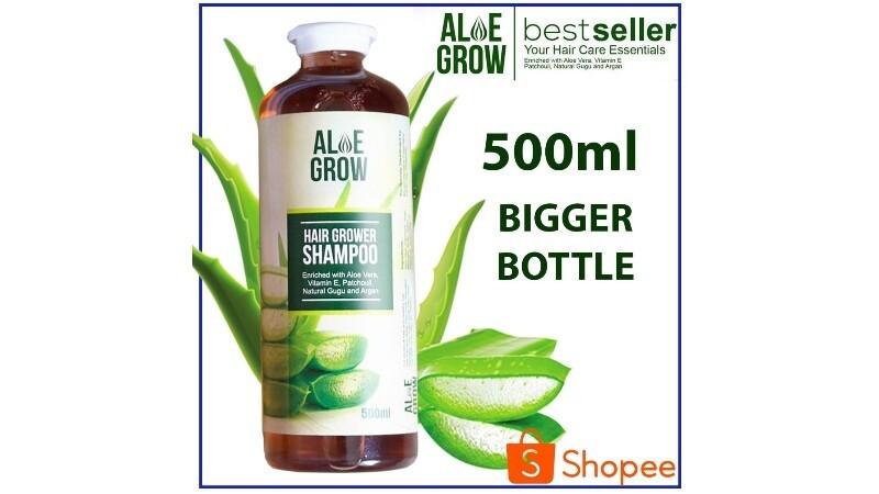 Aloe Grow: Hair grower Shampoo