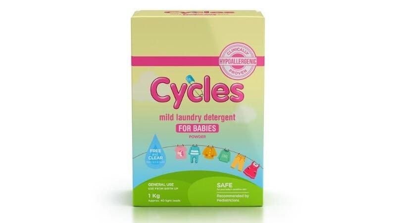 Cycles Mild Laundry Powder Detergent