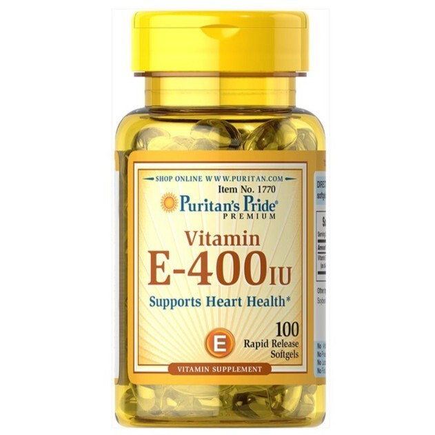 Viên uống bổ sung Vitamin E Puritan'S Pride Vitamin E-400 I.U