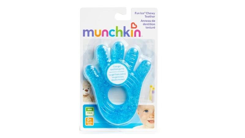 MUNCHKIN CHEWY FUN ICE TEETHER
