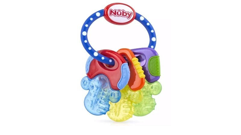 NUBY ICE GEL TEETHER KEYS IN BOX