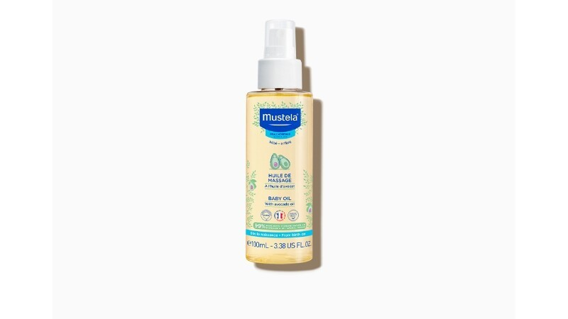 MUSTELA BABY MASSAGE OIL WITH AVOCADO