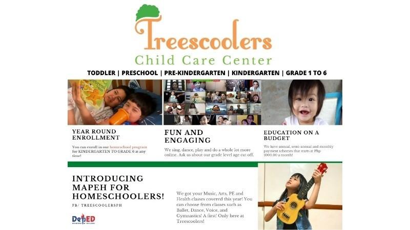TREESCOOLERS CHILD CARE CENTER PARANAQUE