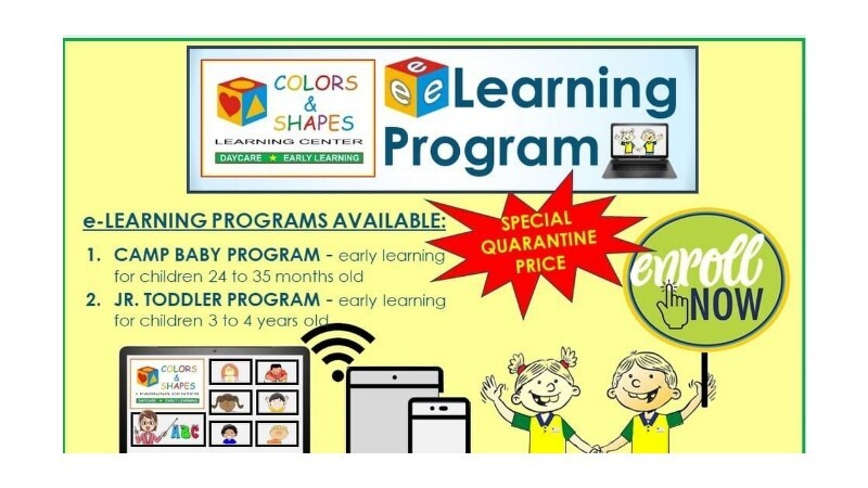 COLORS AND SHAPES LEARNING CENTER