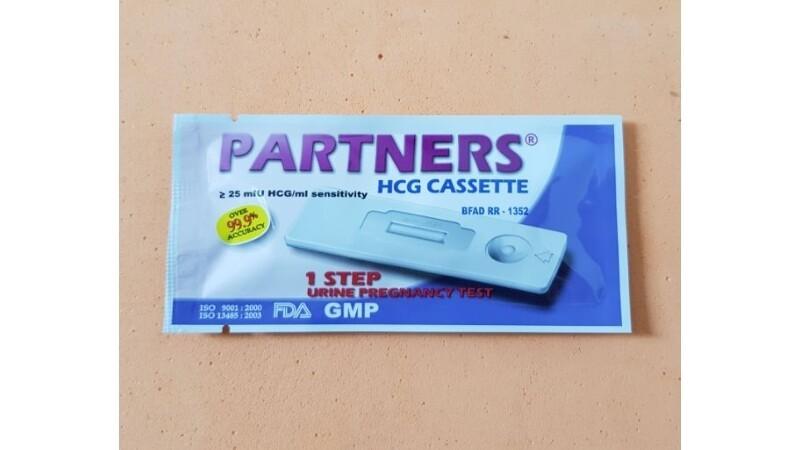 Partners Pregnancy Test